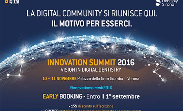 Innovation Summit 2016  <br />Vision in digital dentistry