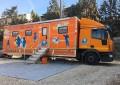 Il clinical truck di Overland <br />for Smile a Norcia