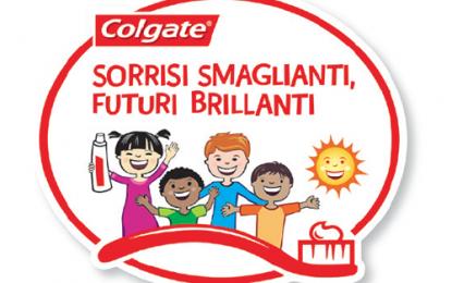 Programma educativo Colgate: igiene orale spiegata ai bambini