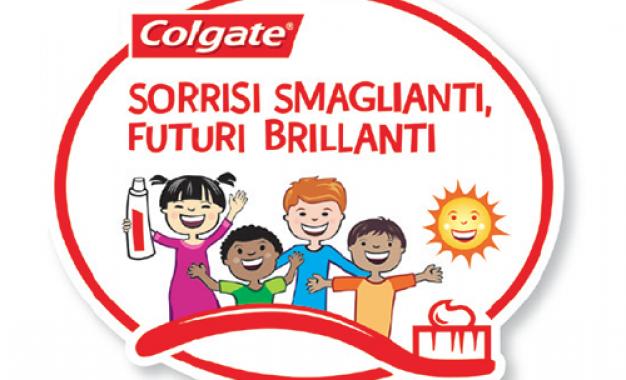 Programma educativo Colgate: <br />igiene orale spiegata ai bambini