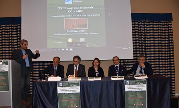 Congresso Coi-Aiog, tutti <br>i cenacoli riuniti a Bologna. <br>Il fotoracconto