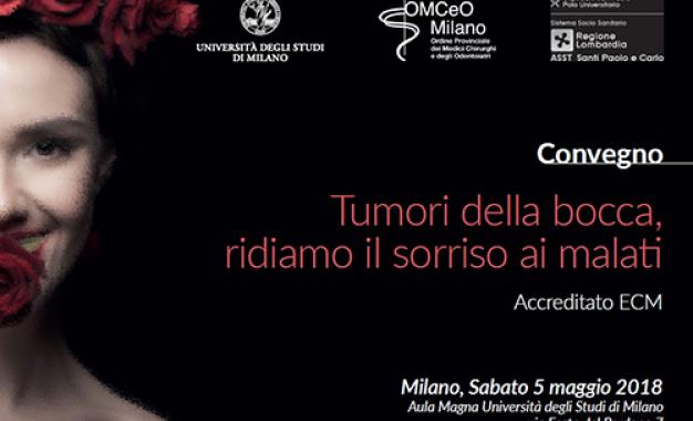 A Milano un convegno sul cancro orale <br>con il gruppo multidisciplinare <br>del San Paolo