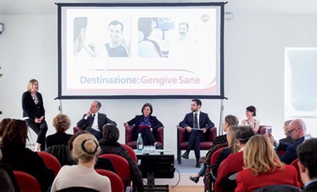 Milano-Roma in Frecciarossa </br>per la prevenzione parodontale